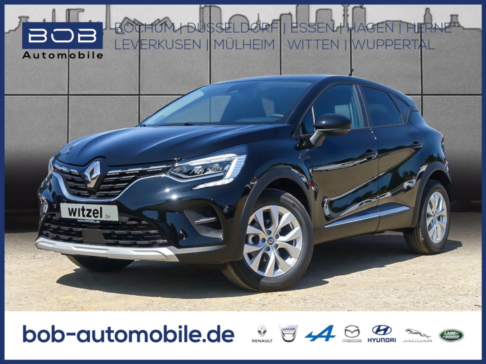 Renault Captur EXPERIENCE TCe 100 SHZ PDC KLIMA BT, Jahr 2020, Benzin