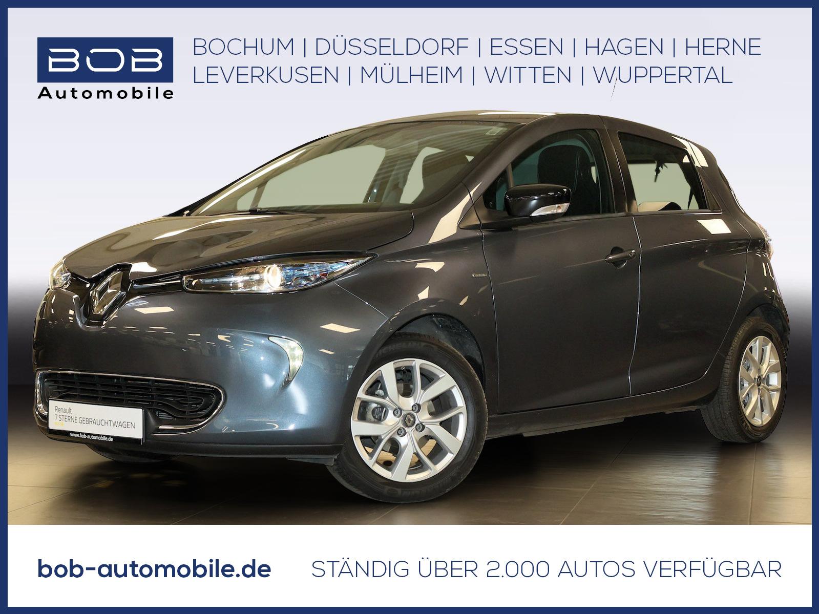 Renault ZOE LIFE Batteriemiete Option auf LIMITED-P. SHZ, Jahr 2019, Elektro