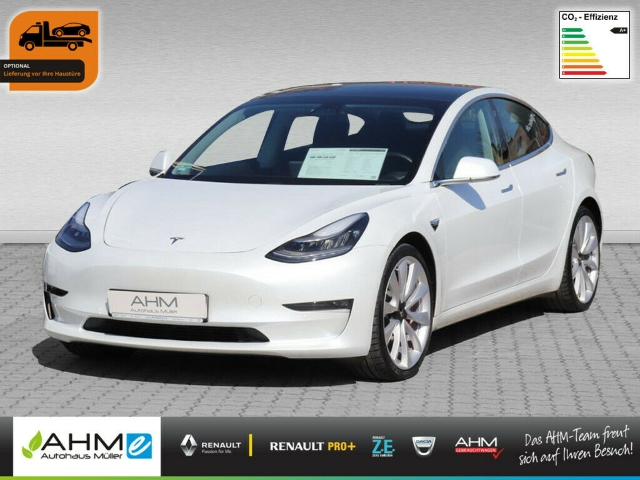 Tesla Model 3 Performance -Bestand ON STOCK- LED ACC, Jahr 2019, Elektro