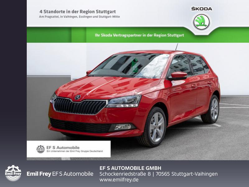 Skoda Fabia 1.0 MPI Cool Plus 44 kW, 5-türig, Jahr 2019, Benzin