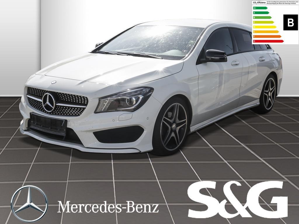 Mercedes-Benz CLA 180 Shooting Brake AMG line R.kamera/Xenon/N, Jahr 2015, Benzin