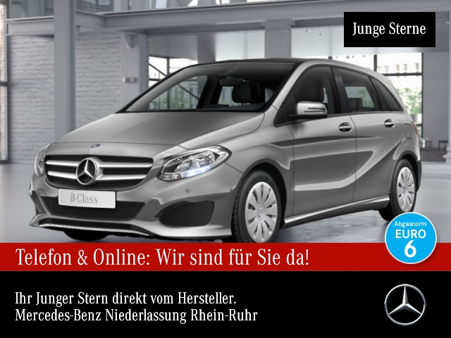 Mercedes-Benz B 200 AHK Kamera Navi Laderaump 7G-DCT Sitzh Temp, Jahr 2017, Benzin