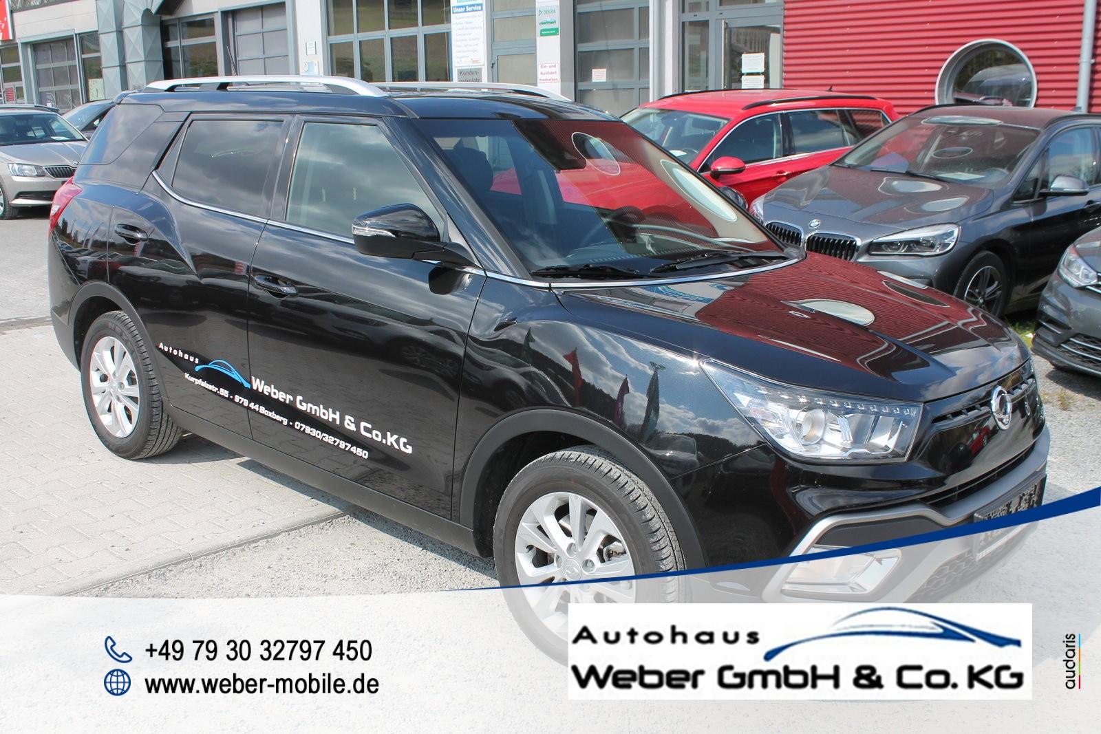 Ssangyong XLV 1.6 P *Urban*6AT*2WD*Tempomat*WLTP*Einparkhilfe hinten mit Kamera*, Jahr 2019, Benzin
