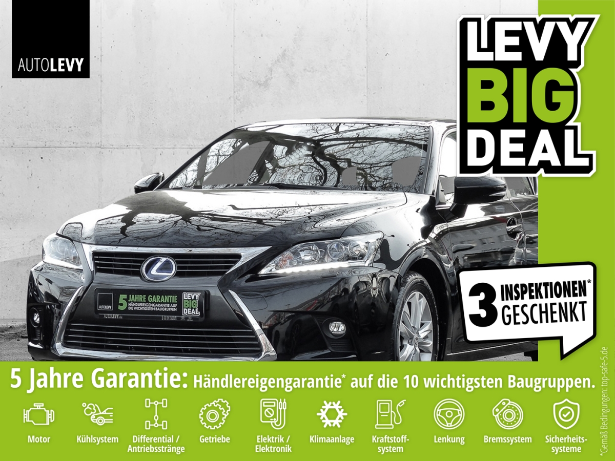 Lexus CT 200h 1.8 Executive Line *Navi*Keyless*RFK*, Jahr 2017, Benzin