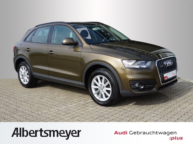Audi Q3 2.0 TFSI quattro S-tronic AHK Klima, Jahr 2012, petrol