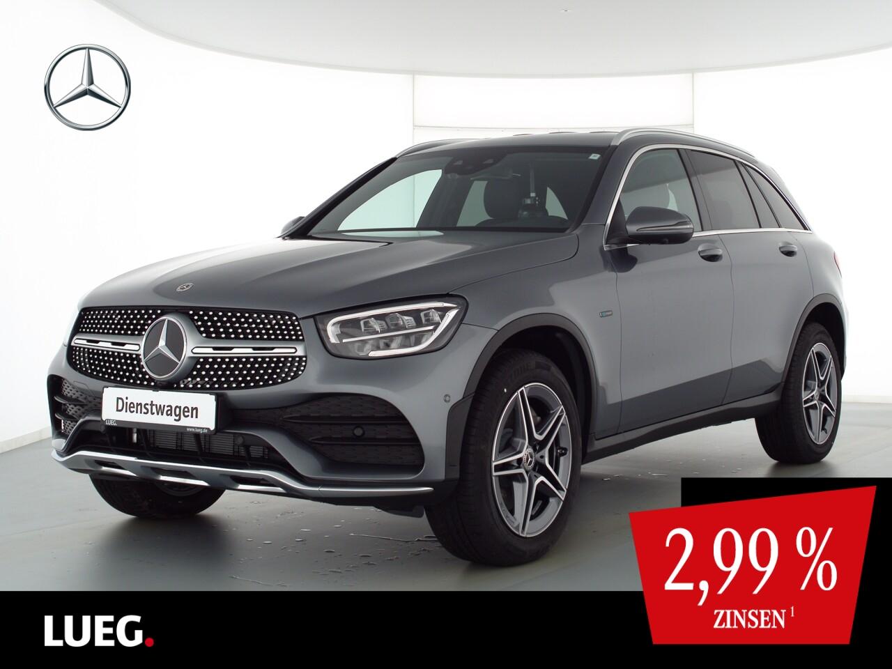 Mercedes-Benz GLC 300 de 4M AMG+19''+AHK+TOTW+360°+DKL.GLAS+PT, Jahr 2021, Hybrid_Diesel