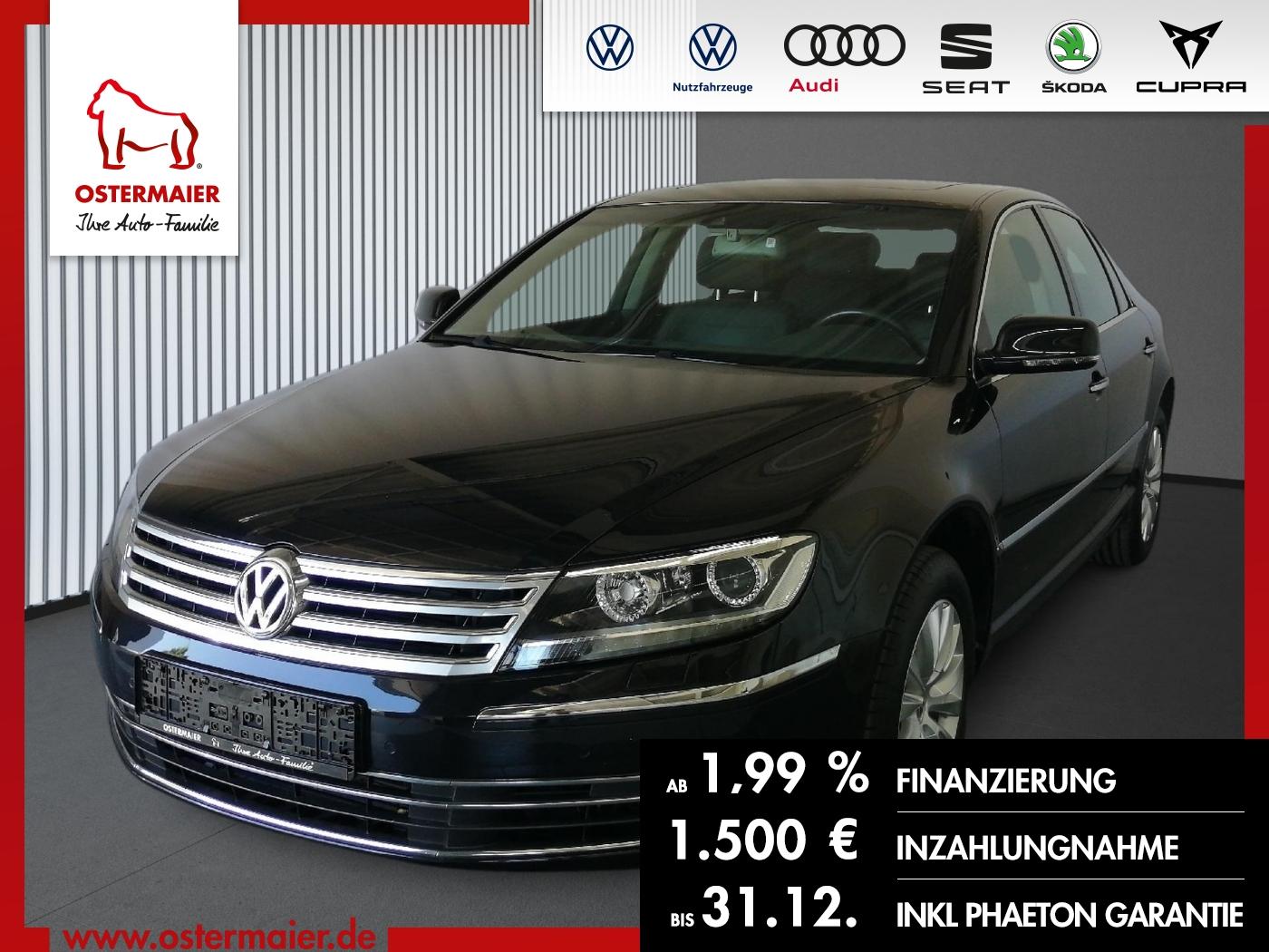 Volkswagen Phaeton 3.0TDI 245PS DSG 4M 5SITZE LEDER.S-DACH., Jahr 2015, Diesel