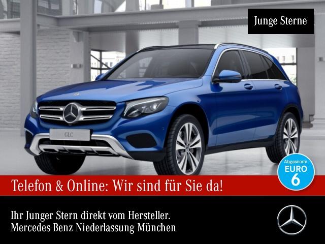 Mercedes-Benz GLC 300 4M AMG Fahrass 360° Pano Burmester Distr., Jahr 2017, Benzin