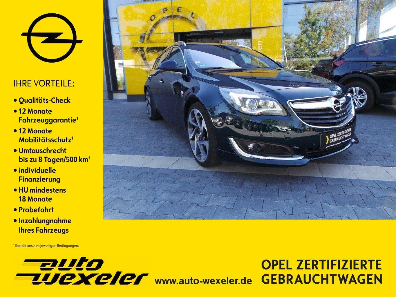 "Opel Insignia ST Innovation 2.0 AT,OPC-Line,20"",ACC,WKR,Leder, Jahr 2015, petrol"