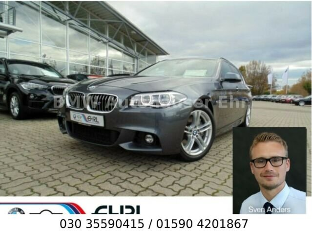 BMW 528i xDrive Touring M Sport Aut.Navi LED AHK uvm, Jahr 2015, petrol