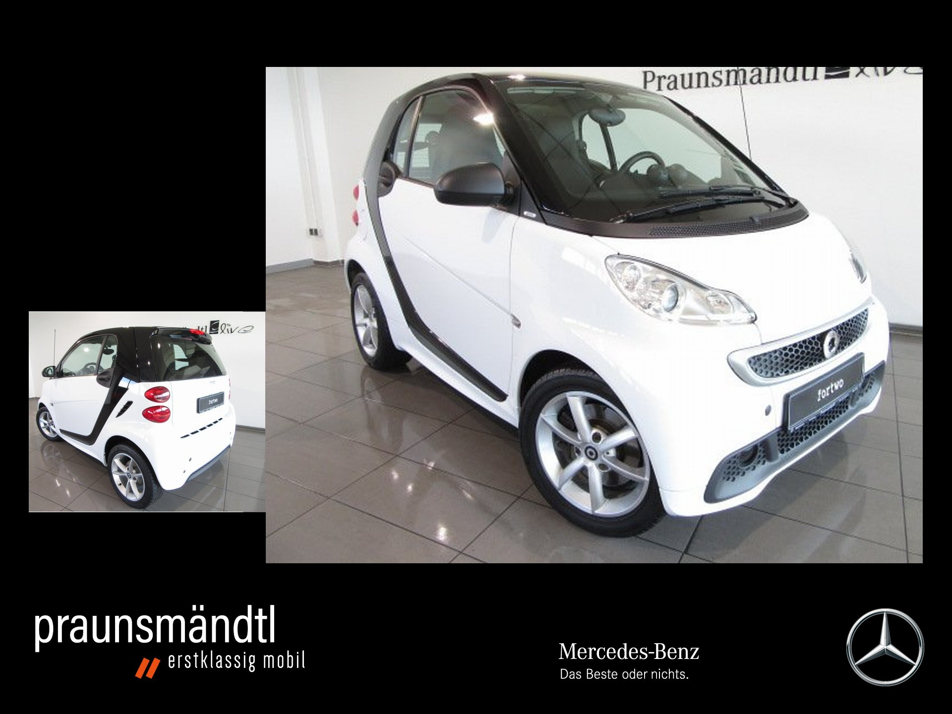 smart fortwo coupe 62kW PULSE/SERVO/KLIMA/SHZ/SOUND, Jahr 2013, Benzin
