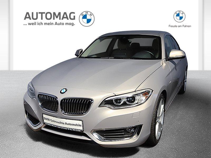 BMW 230i Coupé*LuxuryLine*Driv. Assist*Kurvenlicht*, Jahr 2016, Benzin