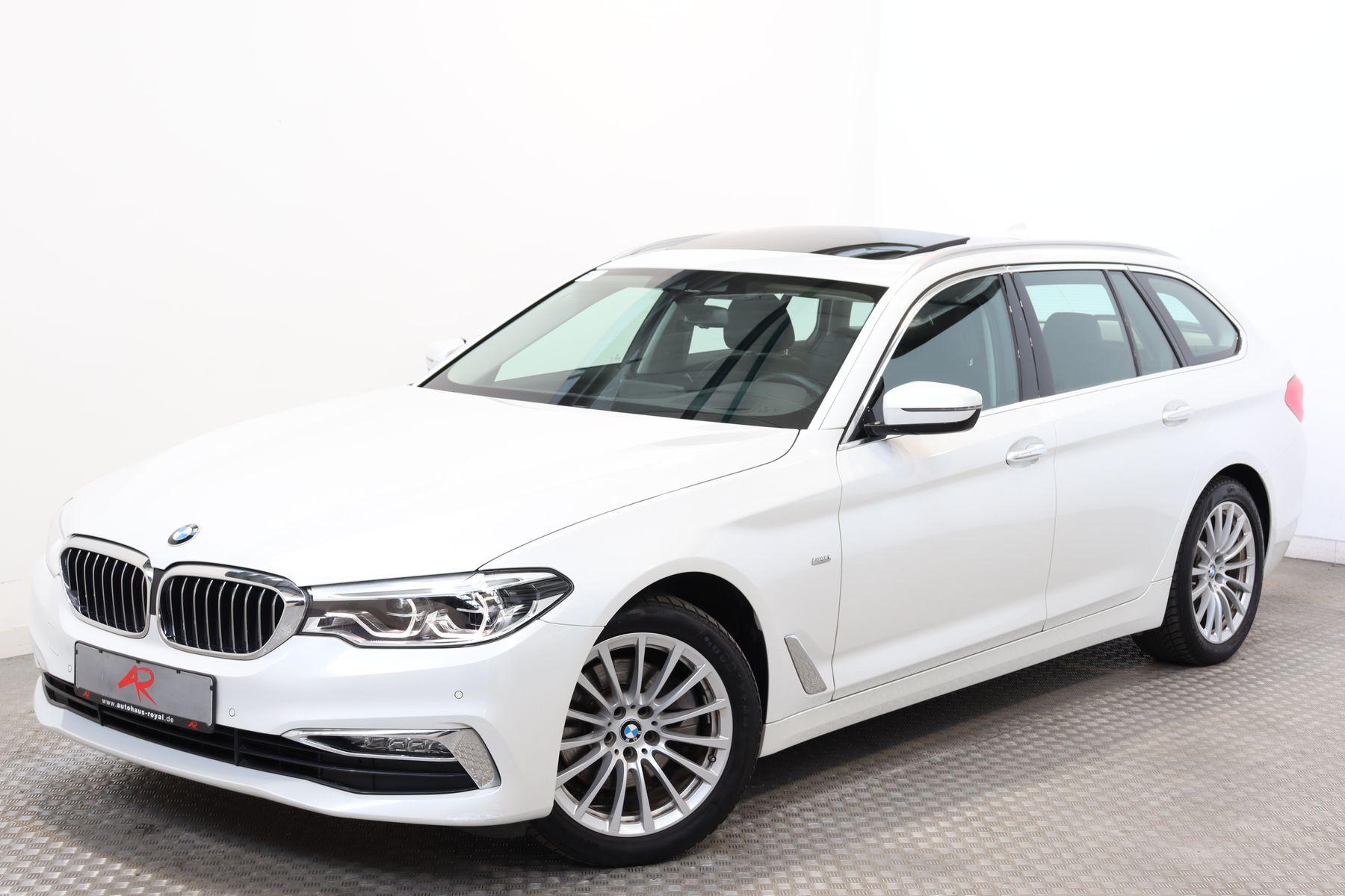 BMW 520 d xDrive T EXKLUSIVLEDER DIG.TACHO,HUD,AHK, Jahr 2017, Diesel