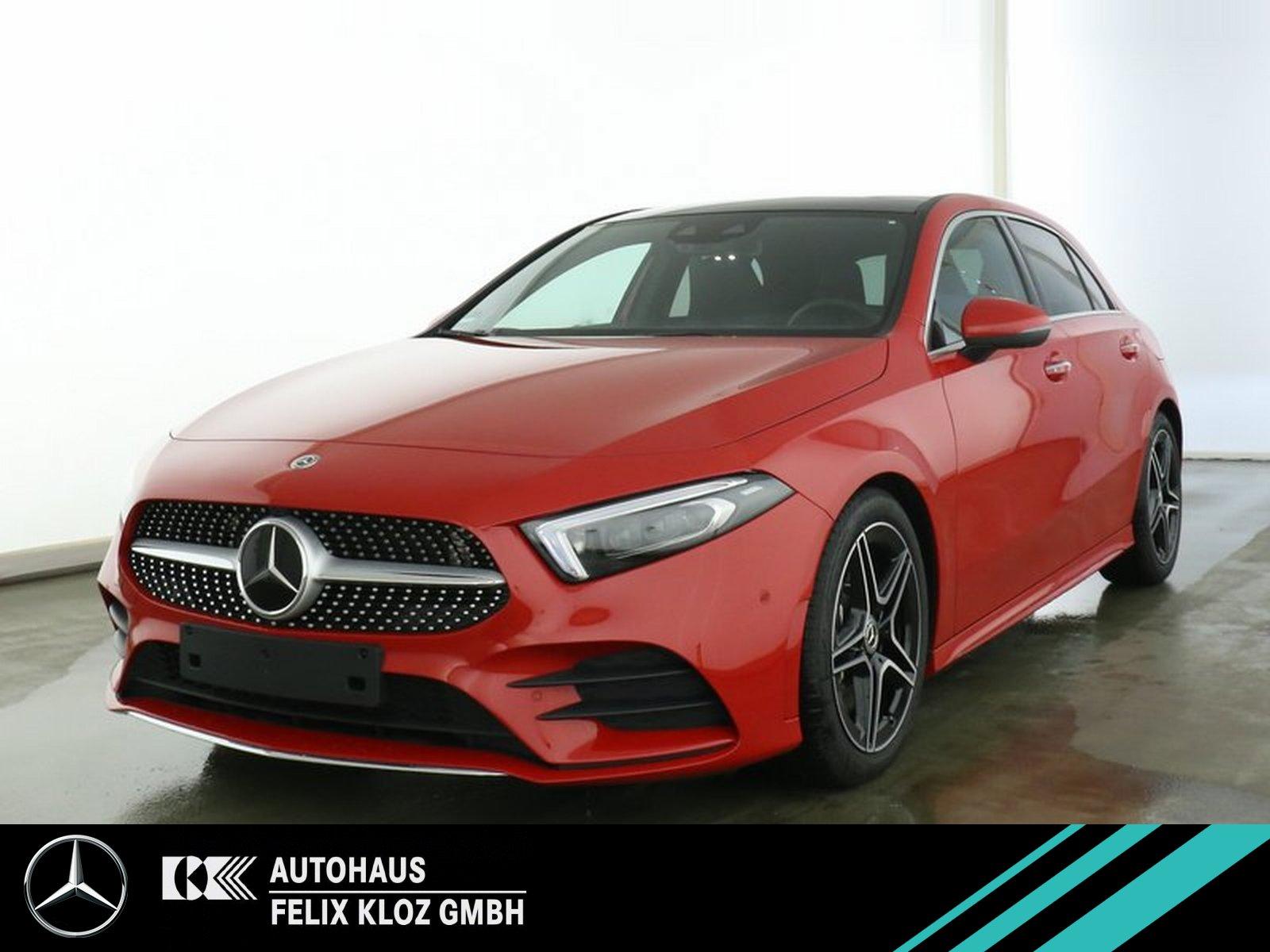 Mercedes-Benz A 200 AMG Pano HUD 360 FAP Burmester Technik-Pak, Jahr 2019, Benzin