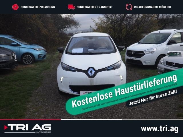 Renault ZOE Life zzgl.Batteriemiete Navi Klimaautom Temp LED Multif.Lenkrad AUX USB, Jahr 2014, Elektro
