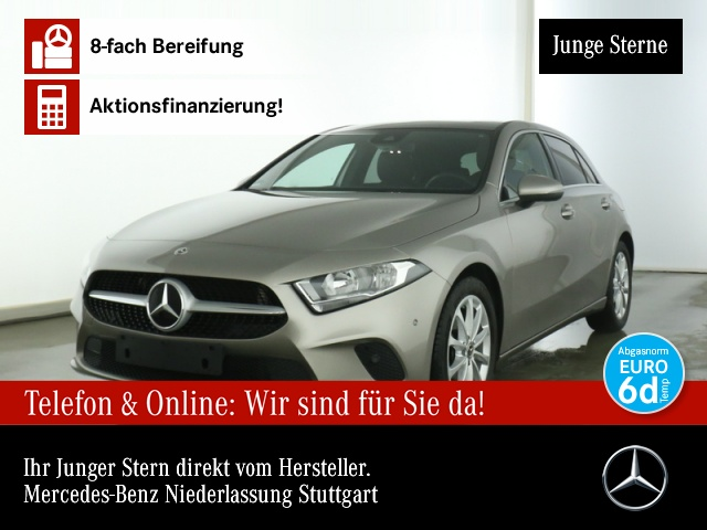 Mercedes-Benz A 180 Progressive Pano Navi Premium AHK Kamera PTS, Jahr 2019, Benzin