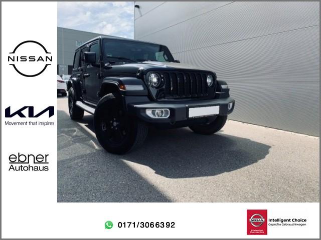 Jeep Wrangler Unlimited Sahara | Lenkradheizung | Hardtop | 8x Bereift, Jahr 2019, Diesel