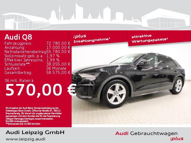 Audi Q8 50 TDI quattro *Anhängerassistent*Pano*, Jahr 2020, Diesel