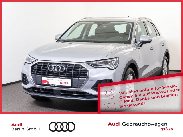Audi Q3 35 TFSI S tronic LED PDC VIRTUAL SITZHZG, Jahr 2020, Benzin
