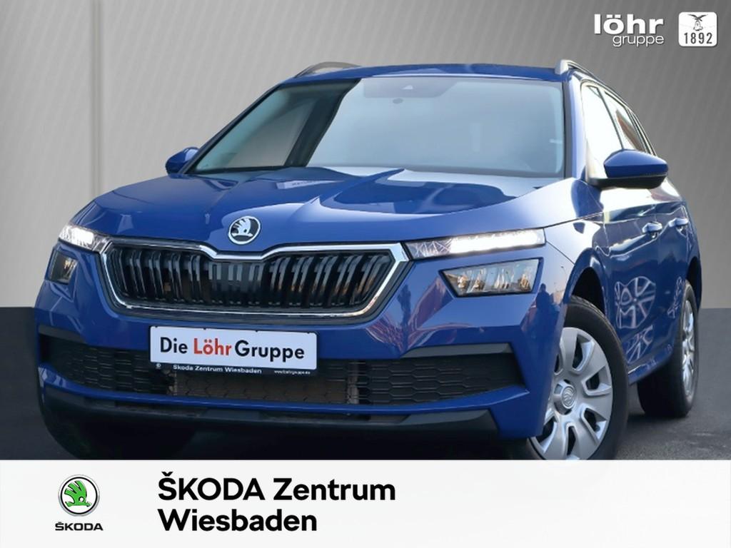 Skoda Kamiq 1.0 TSI (NW) SUV5 Active EURO 6d-TEMP, Jahr 2020, Benzin