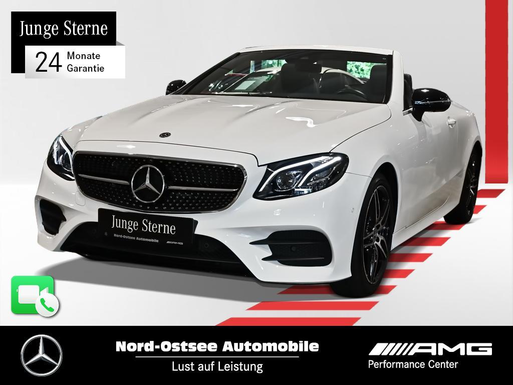 Mercedes-Benz E 200 Cabrio AMG Multibeam Widescreen Burmester, Jahr 2020, Benzin