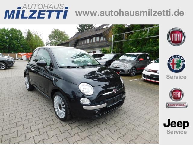 Fiat 500 LOUNGE 1.2 8V 99mtl. KlIMA PDC NEBELSW FREISPRECH, Jahr 2015, Benzin