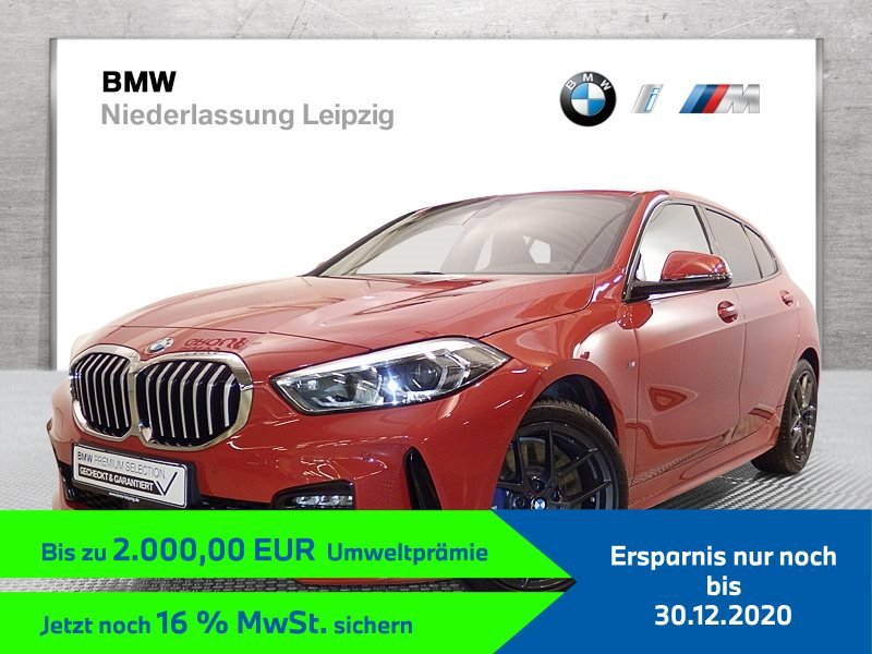 BMW 118d EURO6 M Sport Gestiksteuerung Head-Up HK HiFi DAB LED, Jahr 2019, Diesel