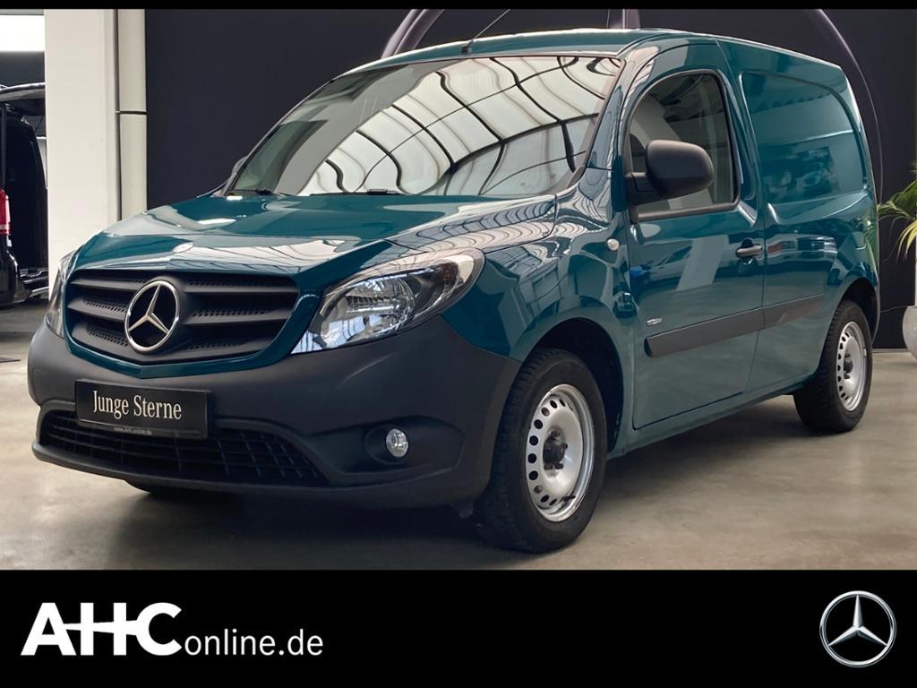 Mercedes-Benz Citan 108 CDI Kasten lang Klima AHK 2 Sitze, Jahr 2017, Diesel