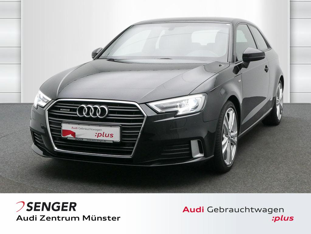 Audi A3 2.0 TFSI Sport quattro Autom. Leder Navi, Jahr 2017, Benzin
