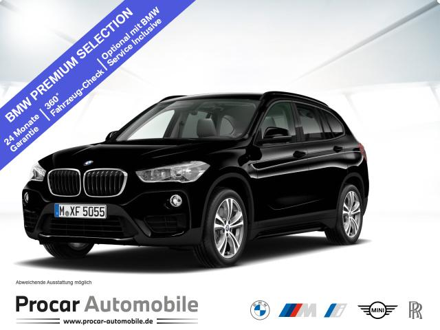 BMW X1 xDrive20d Sport Line Steptronic Aut. PDC RFT, Jahr 2018, Diesel