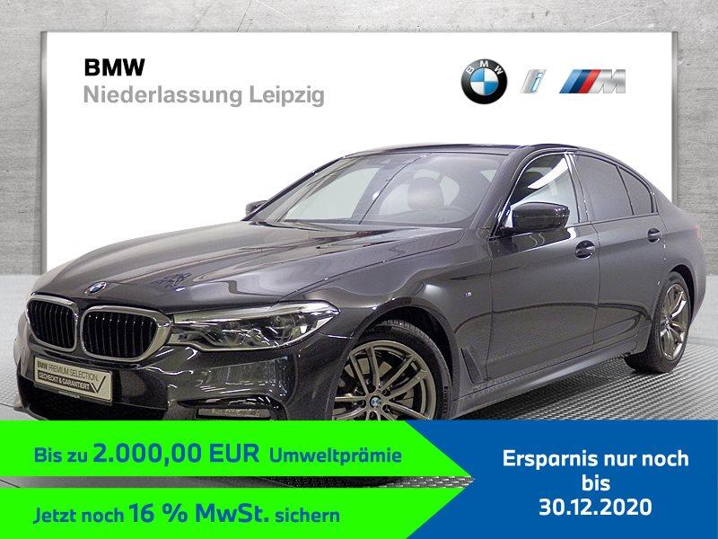 BMW 520i Limousine EURO6 Sportpaket Head-Up HiFi DAB LED Alarm, Jahr 2020, Benzin