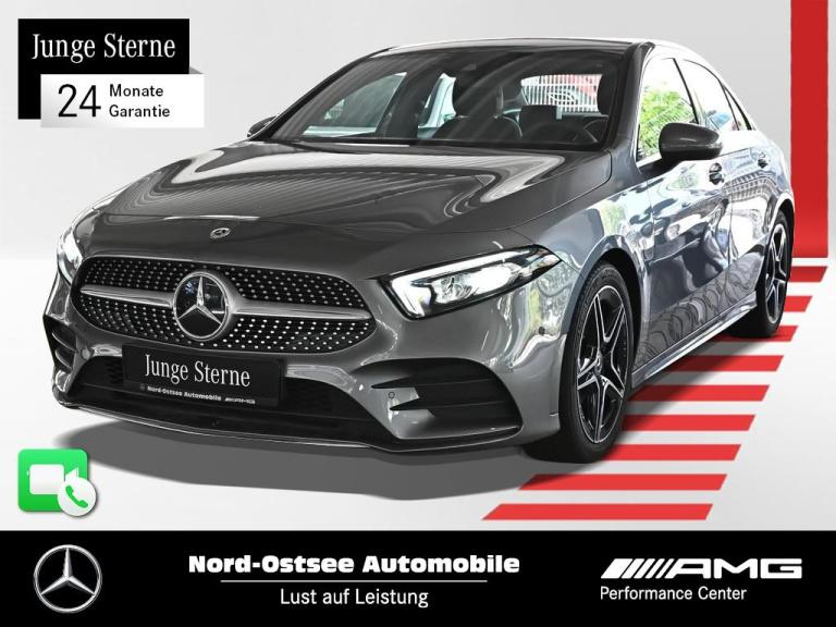 Mercedes-Benz A 180 d AMG Limo LED Kamera MBUX 7G-DCT Navi SHZ, Jahr 2020, Diesel