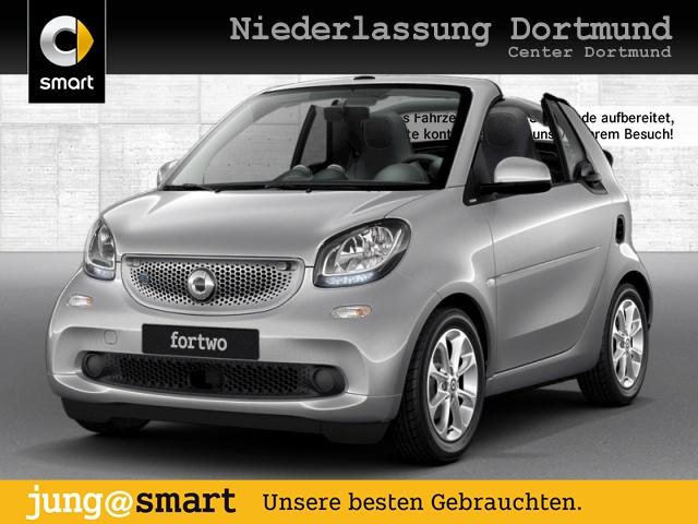 smart fortwo cabrio 60kWed passion cool&Audio SHZ PDC, Jahr 2018, Elektro