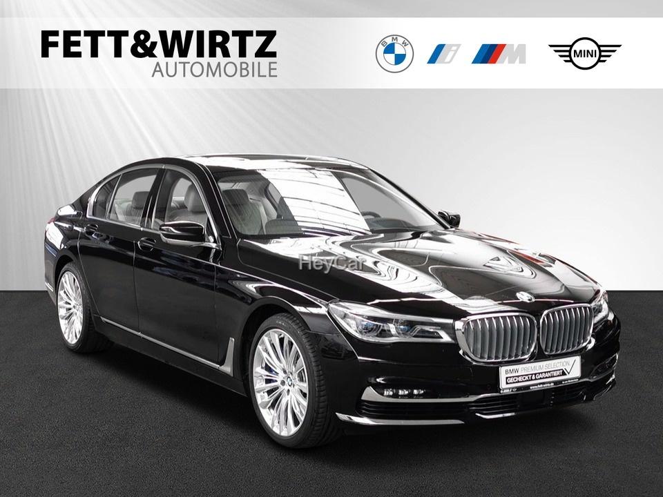 BMW 750i xDrive DA+ Standhzg GSD AHK *Individual*, Jahr 2018, Benzin