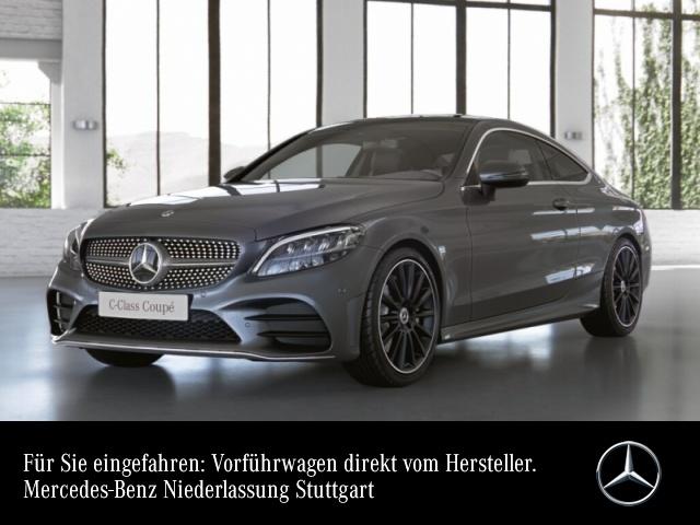 """Mercedes-Benz C 300 Coupé AMG+Pano+LED+Kamera+19""""+Spur+Totw+9G, Jahr 2021, petrol"""