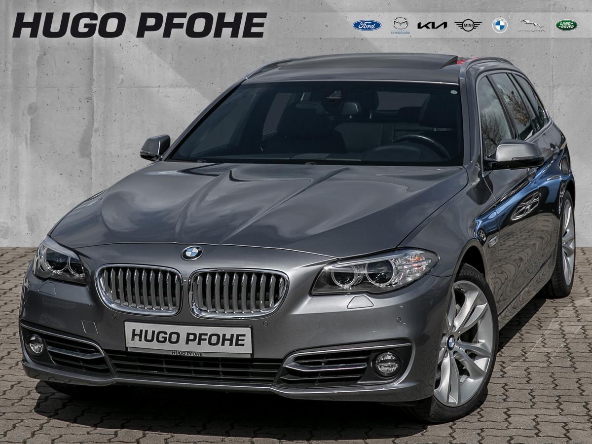 BMW 525d Touring Aut./ / Leder / Navi / Glasdach, Jahr 2014, Diesel