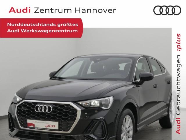 Audi Q3 Sportback 45 TFSI qu.virtual AHK Leder Navi Keyless, Jahr 2020, Benzin