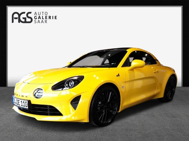 Renault Alpine A110 Limitiertes Sondermodell Color Edition, sonnenblumen gelb, Jahr 2020, Benzin