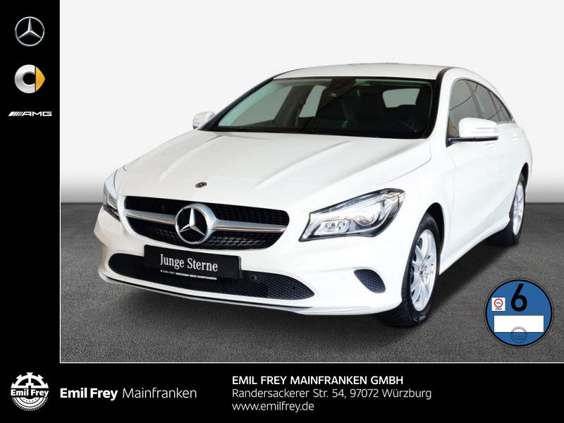 Mercedes-Benz CLA 200 d SB+Navi+LED+LaderaumPaket+Shz+ParkAss, Jahr 2017, Diesel