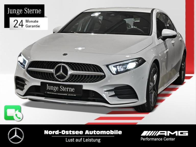 Mercedes-Benz A 200 AMG Premium Navi Distr. Kamera LED SHZ, Jahr 2019, Benzin