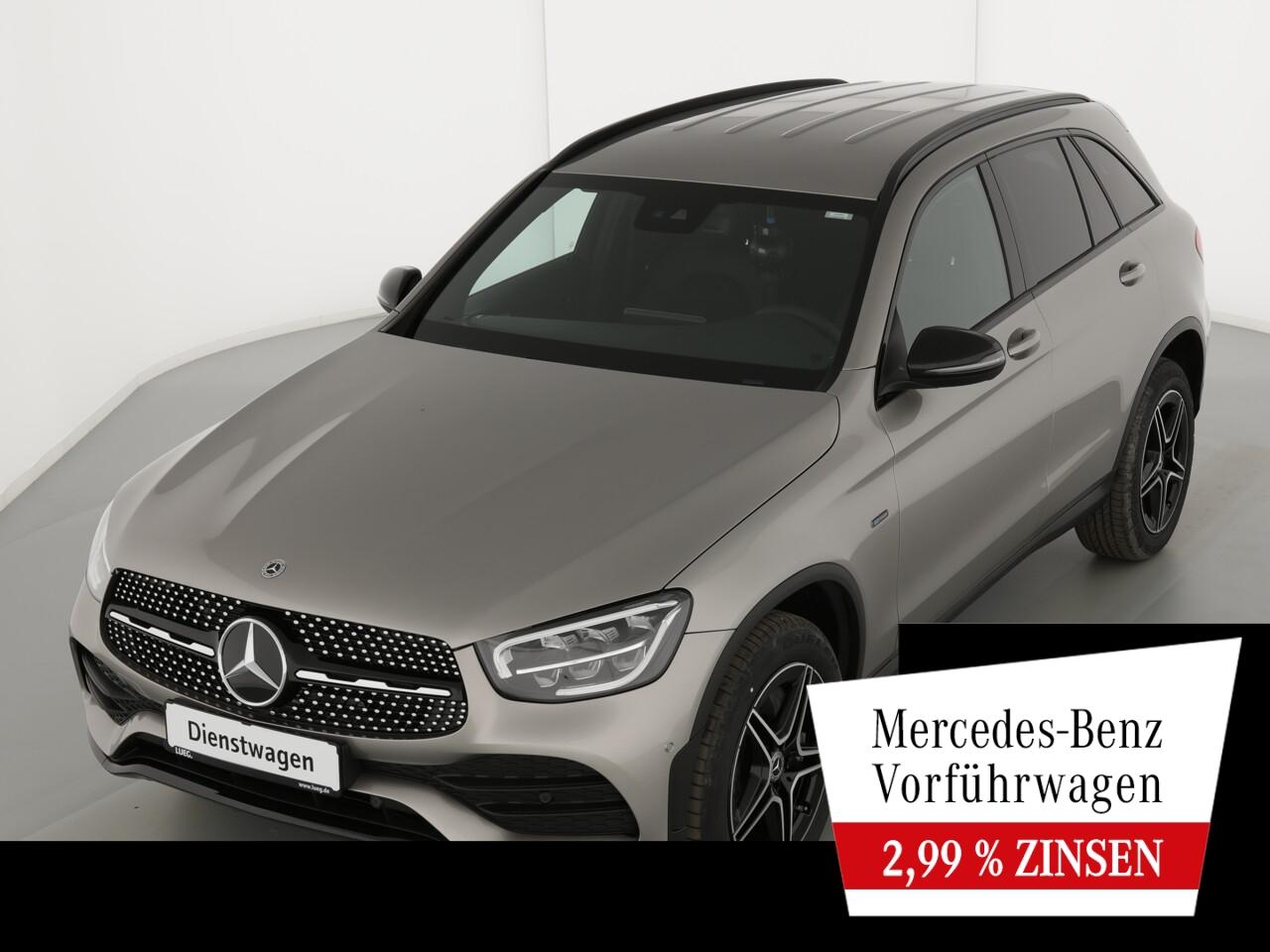 Mercedes-Benz GLC 300 de 4M AMG+NIGHT+AHK+TOTW+KAMERA+LED+PTS, Jahr 2021, Hybrid_Diesel