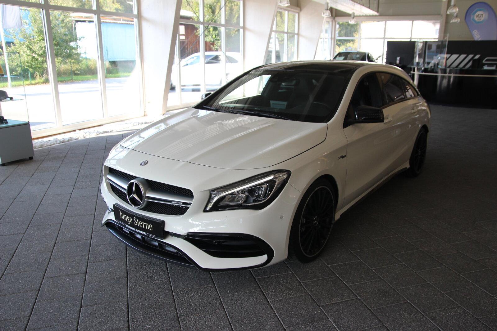 Mercedes-Benz CLA 45 AMG SB/DriverP/Comand/ExclusivP/Klappenau, Jahr 2017, Benzin