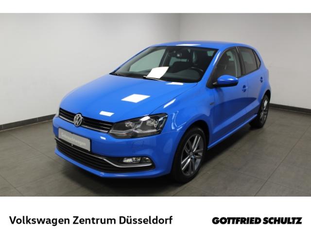 Volkswagen Polo 1.0 Lounge *LED*Navi*GRA*PDC*FSE*, Jahr 2016, Benzin