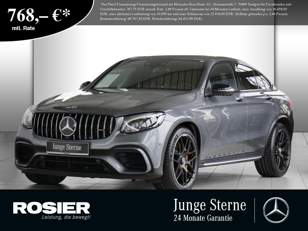 Mercedes-Benz GLC 63 AMG S 4M+ Coupé Night, Jahr 2019, Benzin