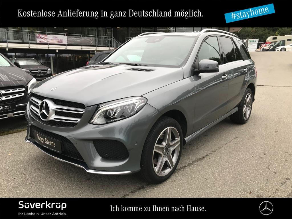 Mercedes-Benz GLE 250 d 4M AMG Line LED/AHK/Standhz/Navi, Jahr 2017, Diesel