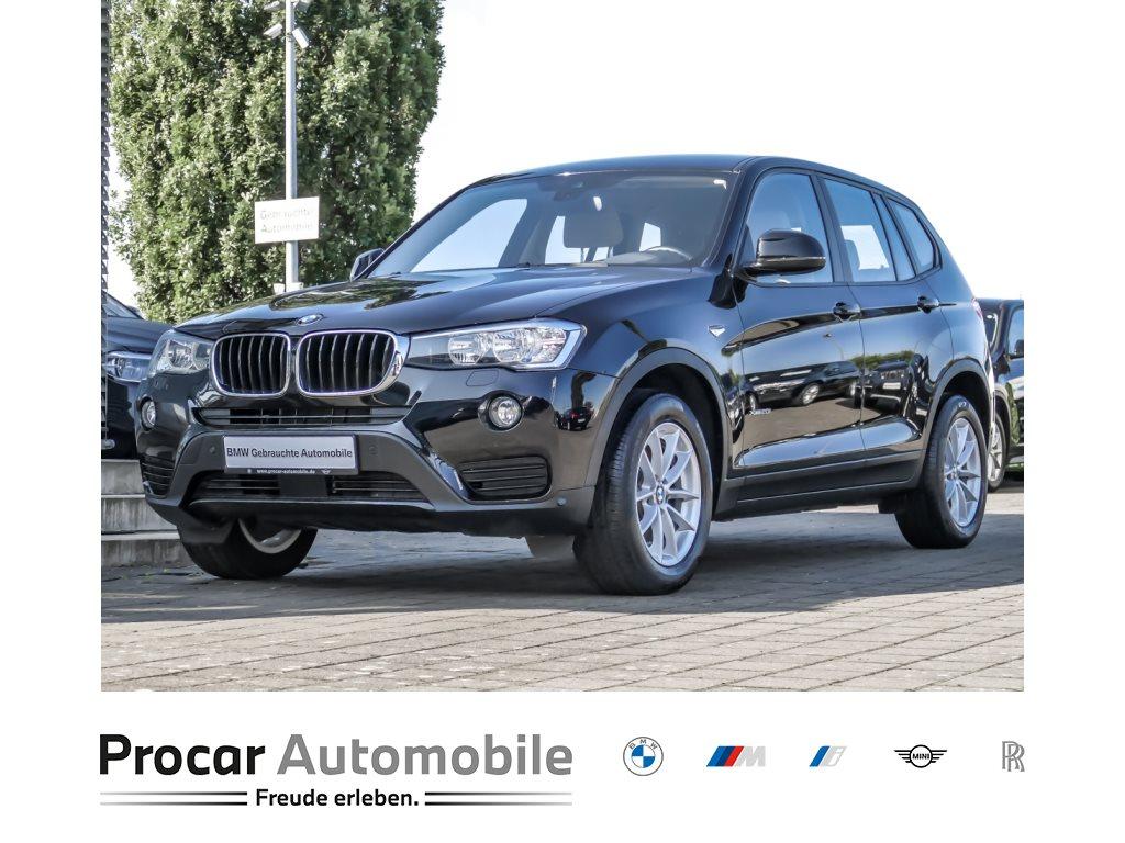 BMW X3 xDrive20i Navi Head-Up Driving Assistant Plus, Jahr 2016, Benzin