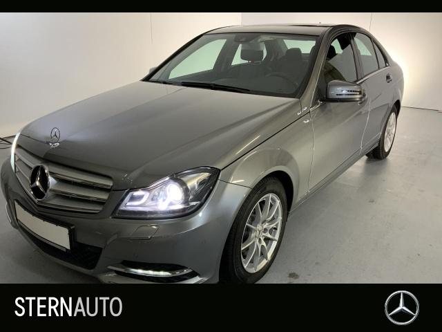 Mercedes-Benz C 180 Avantg. Audio 20 ILS SHD Parktr.Sitzhz.AHK, Jahr 2012, petrol