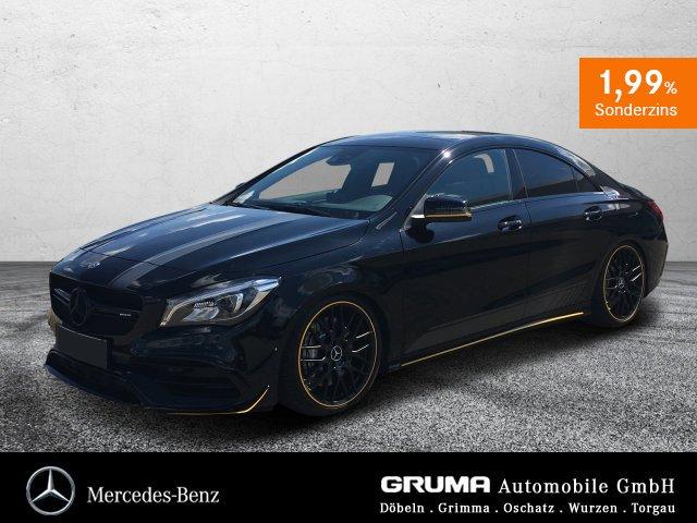Mercedes-Benz CLA 45 4M Coupé +AERO+YELLOW+NIGHT+DRIVERS+KW, Jahr 2017, Benzin