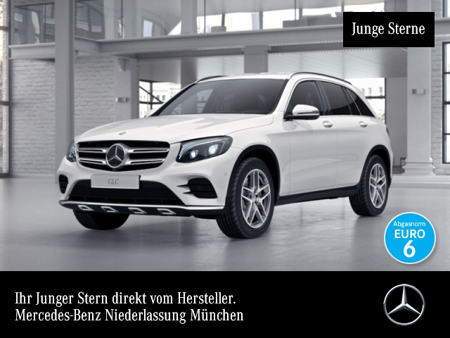 Mercedes-Benz GLC 250 4M AMG Fahrass 360° Distr. COMAND ILS LED, Jahr 2016, Benzin