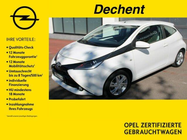 Toyota Aygo 1,0-,x-play touch, Klima,Freisprech,USB, Jahr 2015, Benzin
